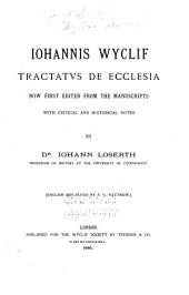 Wyclif's Latin works: Volume 34