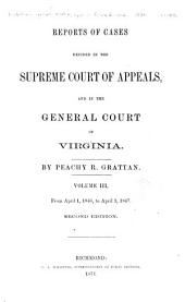 Cases Decided in the Supreme Court of Appeals of Virginia: Volume 44