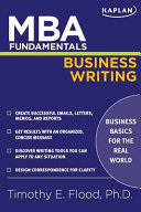 MBA Fundamentals Business Writing