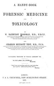 A Handy book of Forensic Medicine and Toxicology