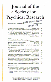 Journal of the Society for Psychical Research PDF