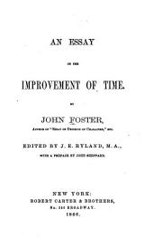 An Essay on the Improvement of Time