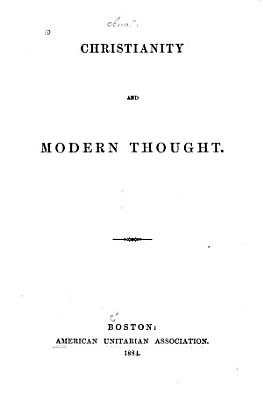 Christianity and Modern Thought PDF