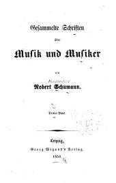 Gesammelte Schriften über Musik und Musiker: Bände 3-4