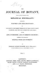The Journal of Botany: Volume 1