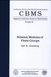 Relation Modules of Finite Groups: Issue 25