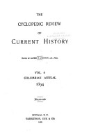 The Quarterly Register of Current History PDF