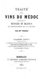 Traité sur les vins du Médoc et les autres vins rouges et blancs du département de la Gironde