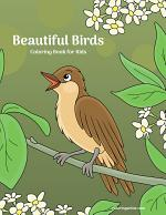 Beautiful Birds Coloring Book for Kids 1