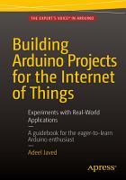Building Arduino Projects for the Internet of Things PDF