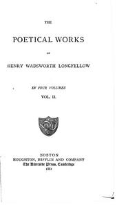 The Poetical Works of Henry Wadsworth Longfellow: Volume 2