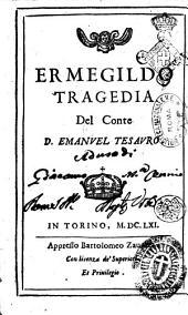 Ermegildo tragedia del conte D. Emanuele Tesauro