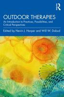 Outdoor Therapies PDF