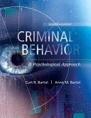 Criminal Behavior PDF