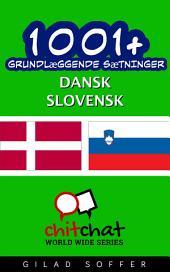 1001+ grundlæggende sætninger dansk - slovensk