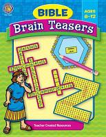 Bible Brain Teasers PDF