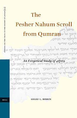 The Pesher Nahum Scroll from Qumran PDF
