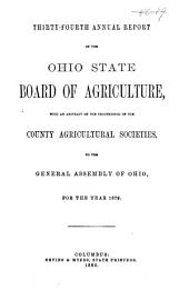 Annual Report of the Ohio State Board of Agriculture: Volume 34, Part 1879