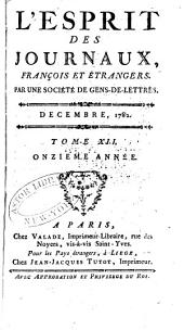 L'Esprit des journaux, françois et étrangers: Numéro12