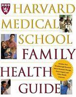 Harvard Medical School Family Health Guide PDF