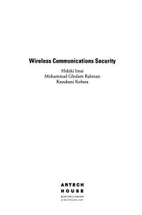 Wireless Communications Security PDF