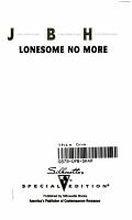 Lonesome No More PDF