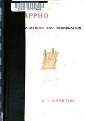 Memoir, Text, Selected Renderings, and a Literal Translation