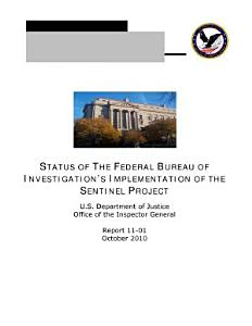 Status of the Federal Bureau of Investigation's Implementation of the Sentinel Project