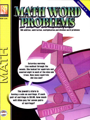 Math Word Problems  GR 4 5