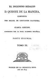 El ingenioso hidalgo d. Quijote de la Mancha: Volumen 3