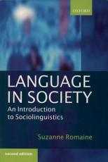 Language in Society PDF