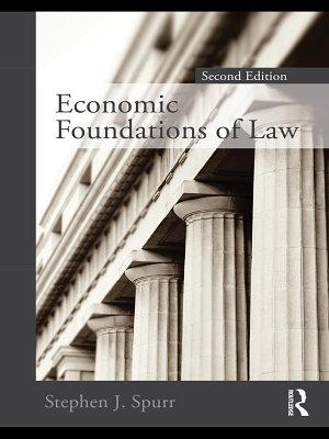 Economic Foundations of Law second edition PDF