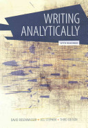 Writing Analytically With Readings Book PDF