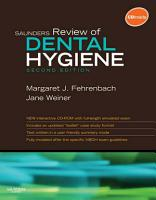 Saunders Review of Dental Hygiene   E Book PDF