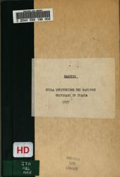 Sulla istituzione dei manicomi criminali in Italia: discorso del Ministro di Grazia e Giustizia ... sulla interrogazione del deputato Righi pronunziato nella tornata del 14 Aprile 1877