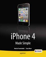 iPhone 4 Made Simple PDF