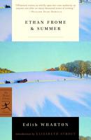 Ethan Frome   Summer PDF