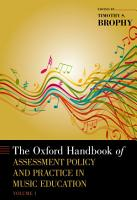 The Oxford Handbook of Assessment Policy and Practice in Music Education PDF