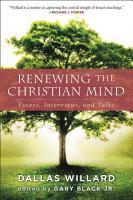 Renewing the Christian Mind PDF