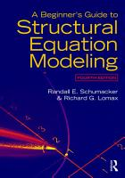 A Beginner s Guide to Structural Equation Modeling PDF