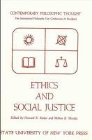 Ethics and Social Justice PDF