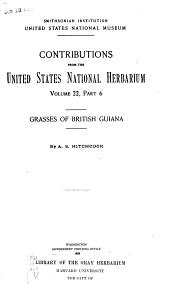 Grasses of British Guiana