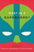 What is a Superhero  PDF