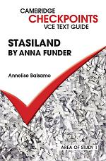Cambridge Checkpoints VCE Text Guides: Stasiland by Anna Funder
