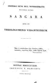 Friderici Henr. Hug. Windischmanni Sancara: sive, De theologumenis Vedanticorum ...