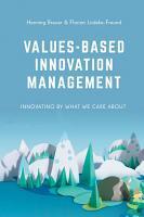Values Based Innovation Management PDF