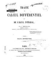Traité de calcul différentiel et de calcul intégral: Calcul différentiel, Volume1