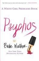 Psychos  A White Girl Problems Book PDF