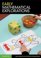 Early Mathematical Explorations PDF