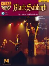 Black Sabbath: Guitar Play-Along, Volume 67
